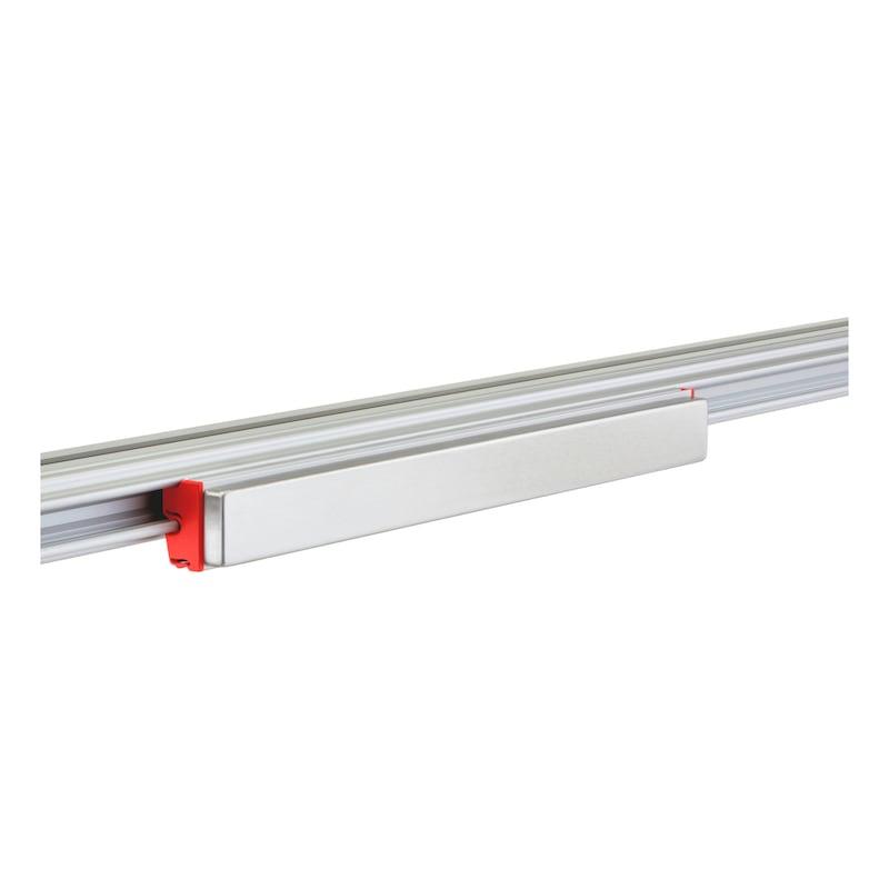 CLIP-O-FLEX<SUP>®</SUP> Halter Magnetflex Magnetische Schiene - COF-HALTER-MAGNETFLEX-400MM
