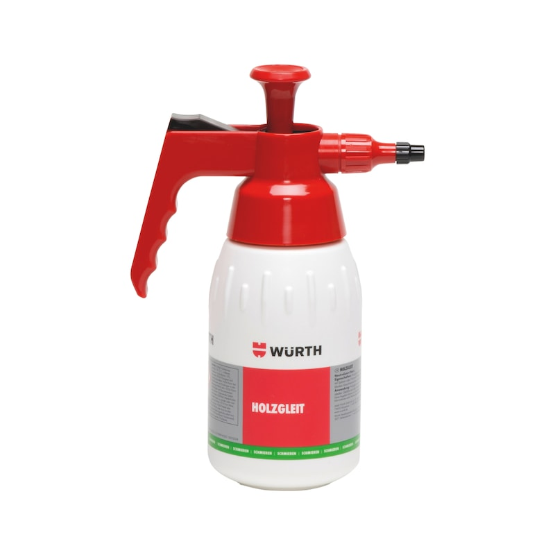 Product-specific pump spray bottle Unfilled - PMPSPRBTL-WOODSLIP-EMPTY-1LTR