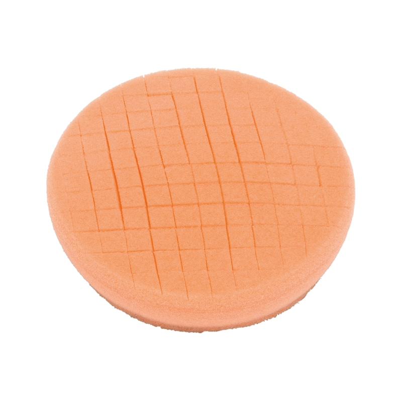 Polishing pads - POLPAD-ORANGE-SOFT-D90X25MM