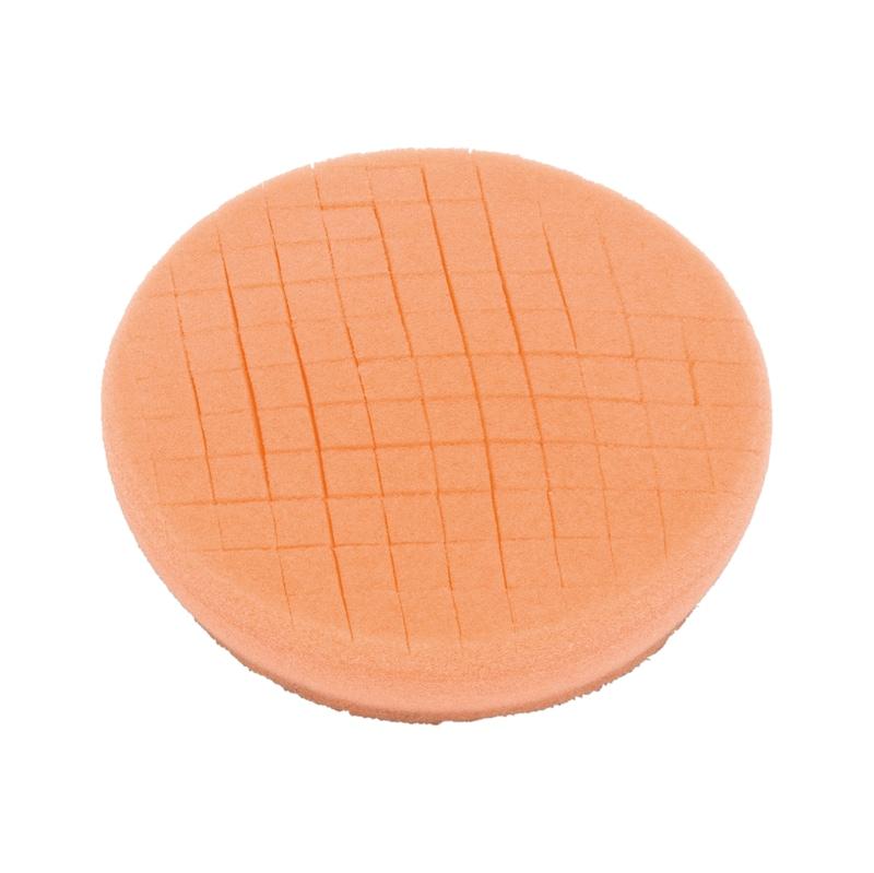 Tamponi di lucidatura - TAMP-LUCID-ARANCIO-MORBIDO-D90X25MM