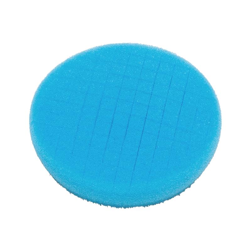 Disco de polir fissurado - DISCO DE POLIR AZUL - 90X25MM