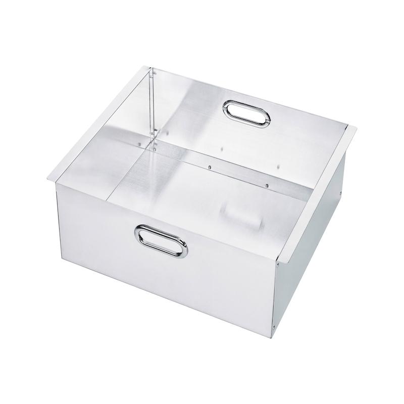 Einhängekorb  für Riffelblechbox 250 Liter - 470 Liter - 1