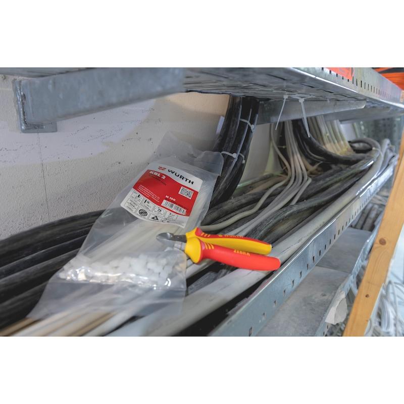 Kabelbinder KBL 2 natur mit Kunststoffzunge - 11