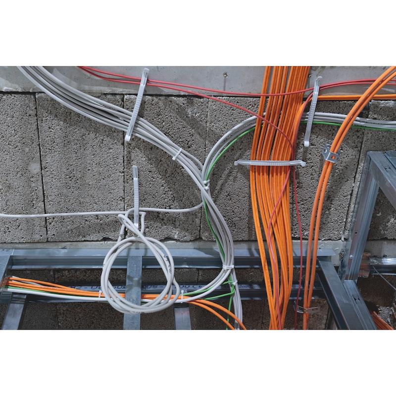 Kabelbinder KBL 2 natur mit Kunststoffzunge - 10