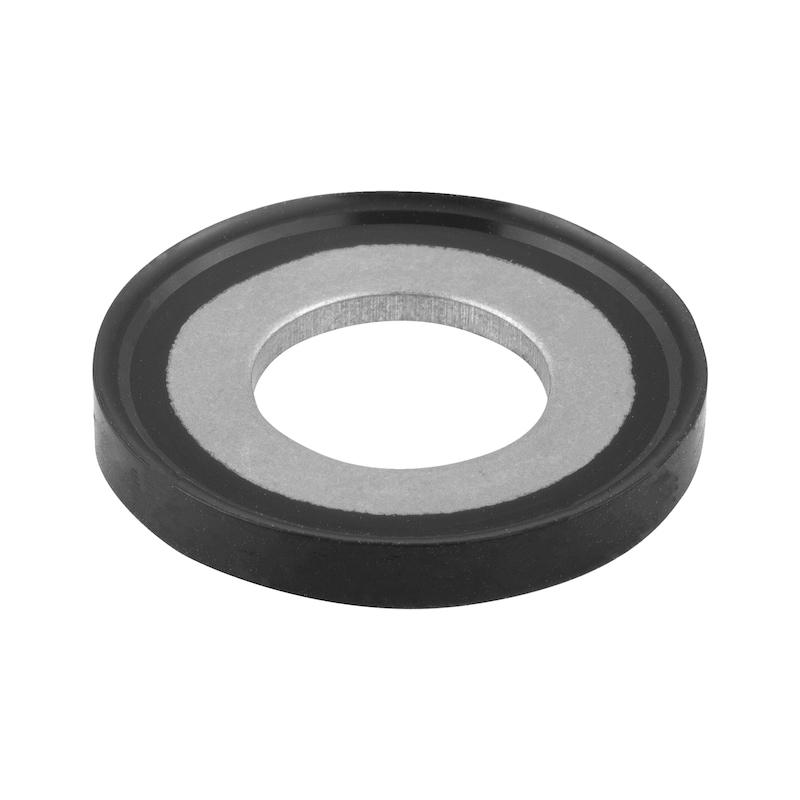 Hygienic USIT® Dicht- und Unterlegscheibe 70 EPDM 291 - schwarz - 1