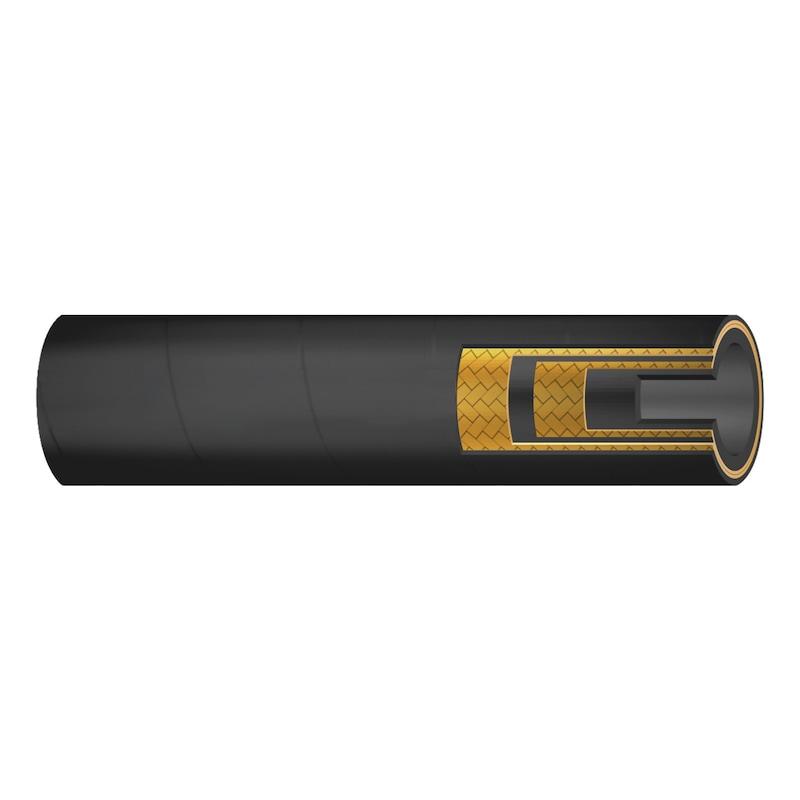 Tubo flessibile con treccia in acciaio 2SN