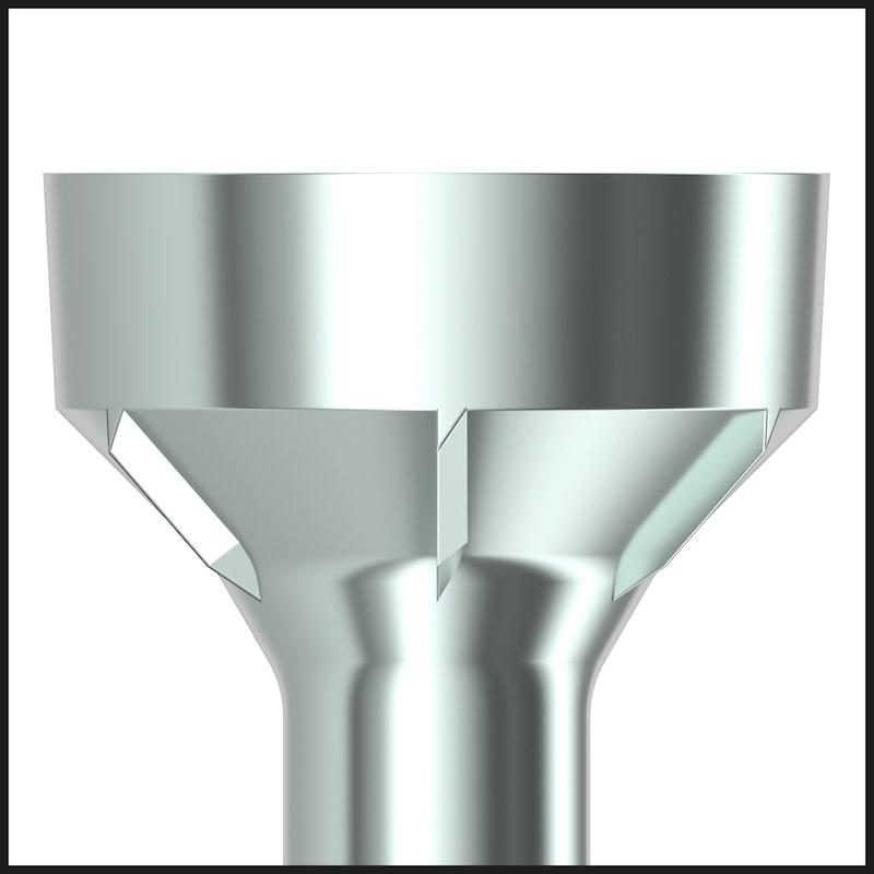 ASSY<SUP>®</SUP> 4 WW CSMR Holzbauschraube Stahl verzinkt Teilgewinde Senkfräskopf - 4