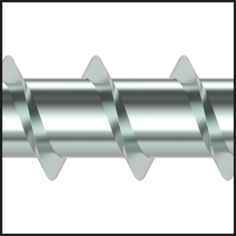 ASSY<SUP>®</SUP>plus VG 4 COMBI Konstruktionsschraube Stahl verzinkt Vollgewinde Sechskantkopf - 6