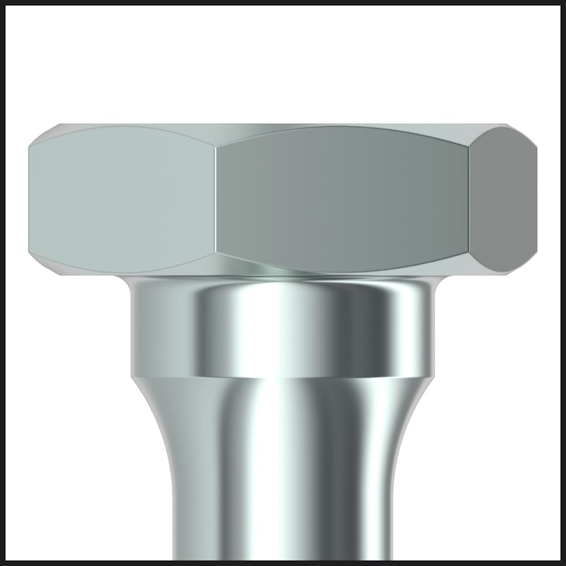 ASSY<SUP>®</SUP> 4 Combi T - Ancorante di trasporto Acciaio zincato, filetto parziale, testa esagonale - VITE-LEG-TE-KOMBI-RW40-(A3K)-12X120/100