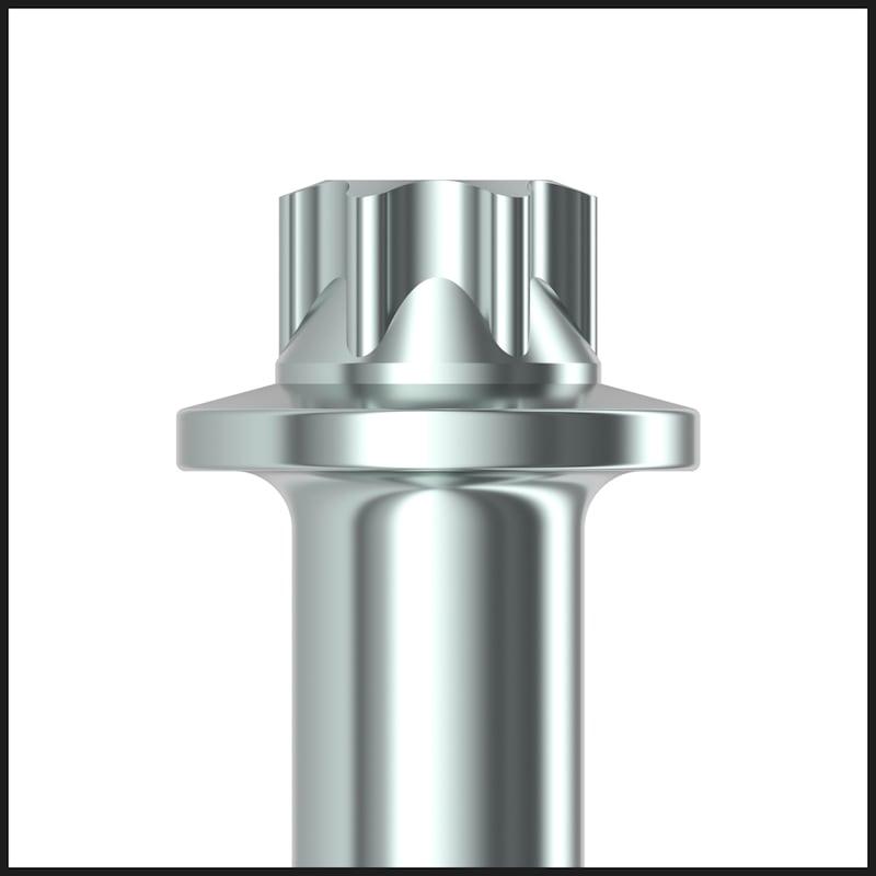 ASSY<SUP>®</SUP>plus VG 4 ETX Konstruktionsschraube Stahl verzinkt Vollgewinde Außen TX - 4