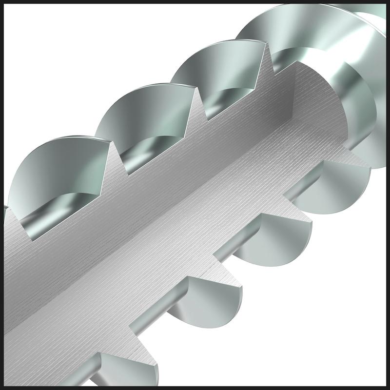 Vis ASSY<SUP>®</SUP> 4 en acier inoxydable hautement résistant à la corrosion (HCR) 1.4539 Vis en acier inoxydable hautement résistant à la corrosion 1.4539 non allié, filetage partiel, tête fraisée - 8