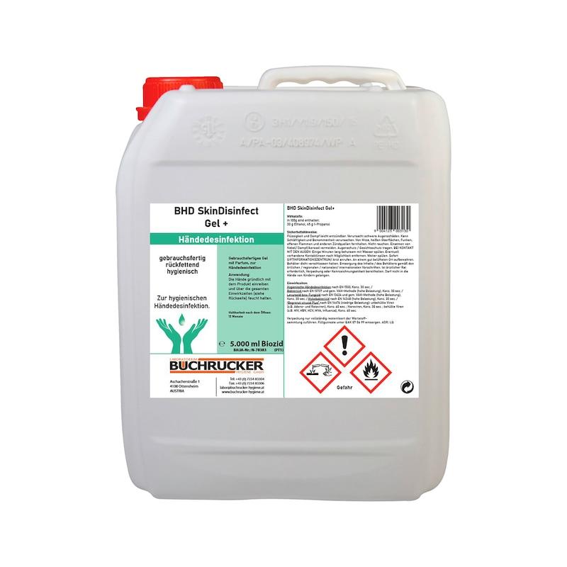 Desinfektionsmittel Buchrucker - HNDDESINF-(BHD SKIN GEL+)-300969-5LTR