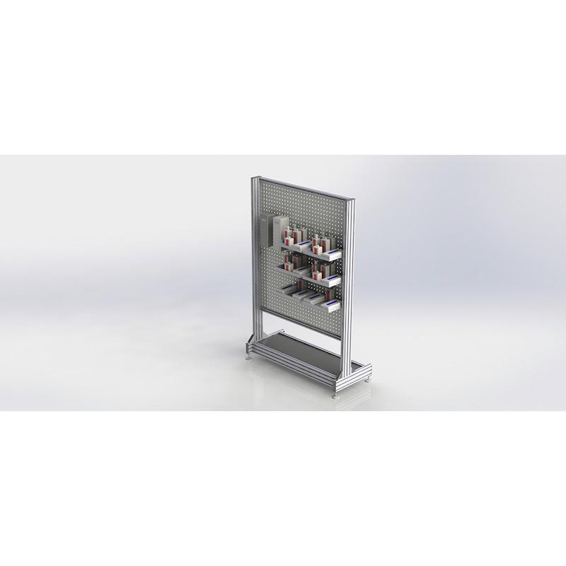 HygieneFLEX station - WAPS-HYGIENEFLEX-STATION-1310X2000X650MM