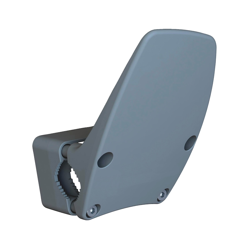 Support de poignée de porte Support de poignée de porte mains libres TYPE A - AY-DH-HANDS-FREE-ELLE-TYP-A-ANTHRACITE