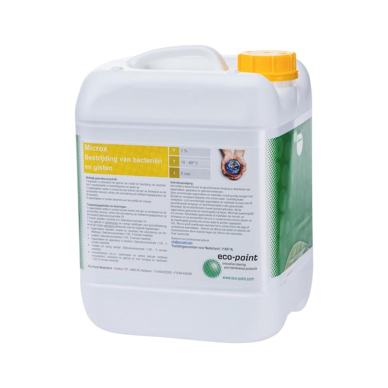 Anti-bacteriële reinigingsmiddel Microx