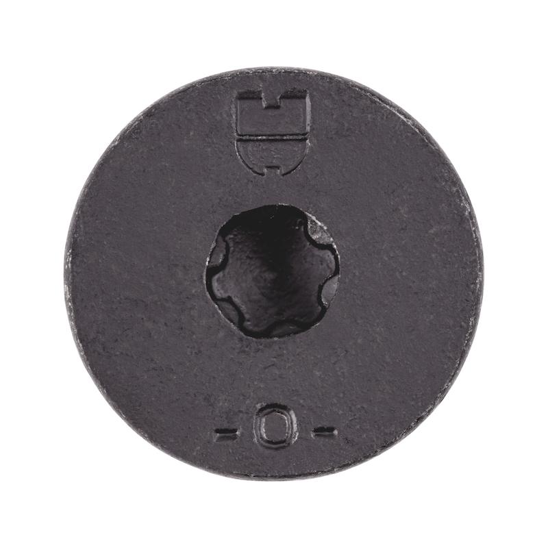 Gewindefurchende Schraube mit Trompetenkopf - 3