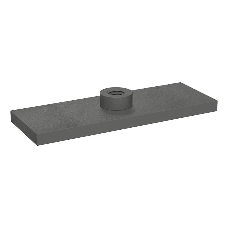 Schweißplatte Premium Teil 3 - einfache Ausführung Typ SP ohne Noppen