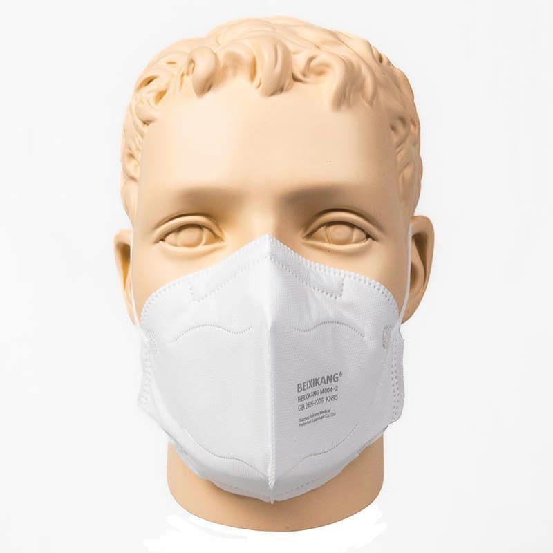Vouwmasker KN95 - -MONDMASKERS KN95 (LABO TESTED)