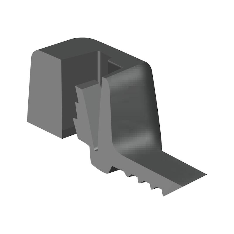 Kabelbinder KBL 2 schwarz mit Kunststoffzunge - 2