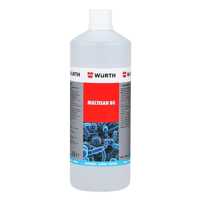 Fertőtlenítőszer MultiSan 80 - MULTISAN 80 FELÜLETFERTŐTLENÍTŐ 1 L