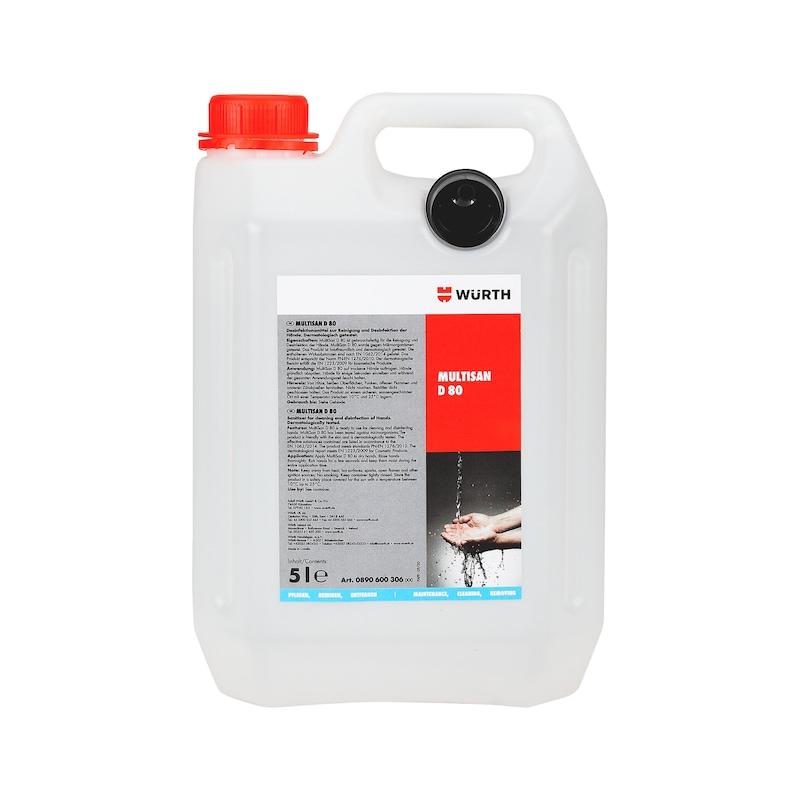 Sanitiser MultiSan D 80 - HNDSANTS-(D3002)-5LTR