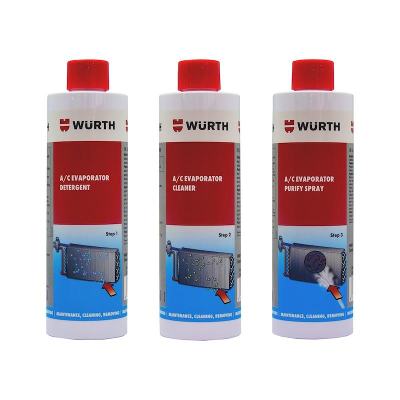 エアコンエバポレーター洗浄スプレー ステップ3_除菌・消臭スプレー - A/C PRO エバポレーター除菌消臭剤 250ML