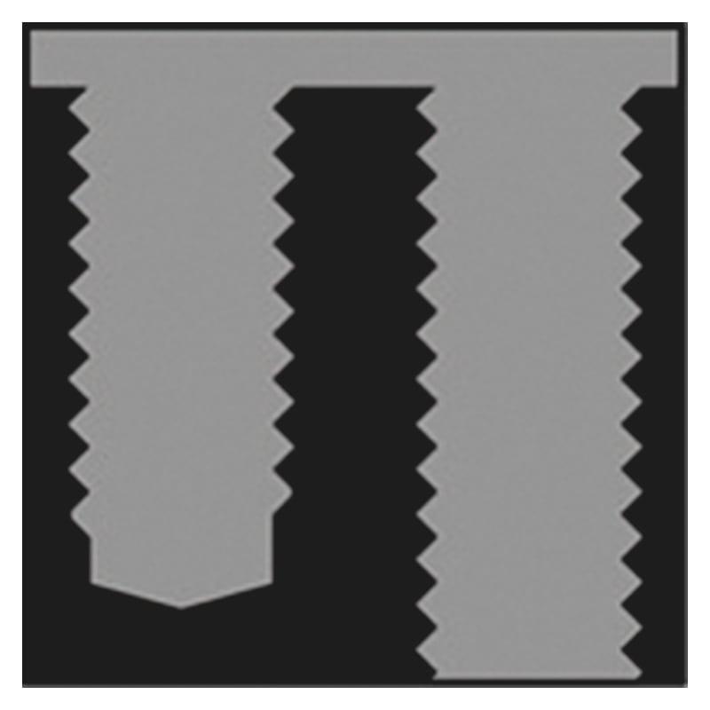 Dişli burç standart, HSS Form D - KILAVUZ FORM D-HSSG-M14X2,0