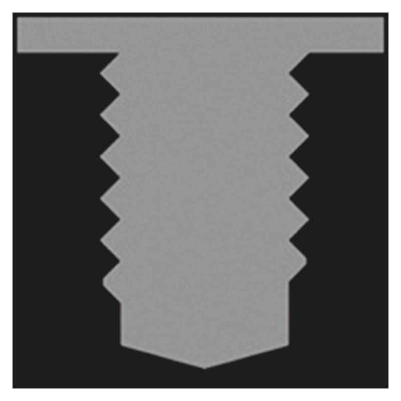 Maschinengewindebohrer für Drahtgewindeeinsätze W.TEC® INSERT COIL - aus HSCo; Form C - BO-GWDEINSA-MG-GRNDLO-HSCO-M3X0,5