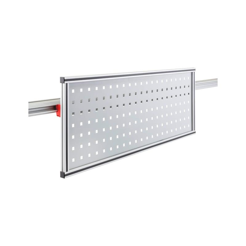 Holder for CLIP-O-FLEX rail Perfoflex transverse - COF-HALTER-PERFOFLEX-855X325MM