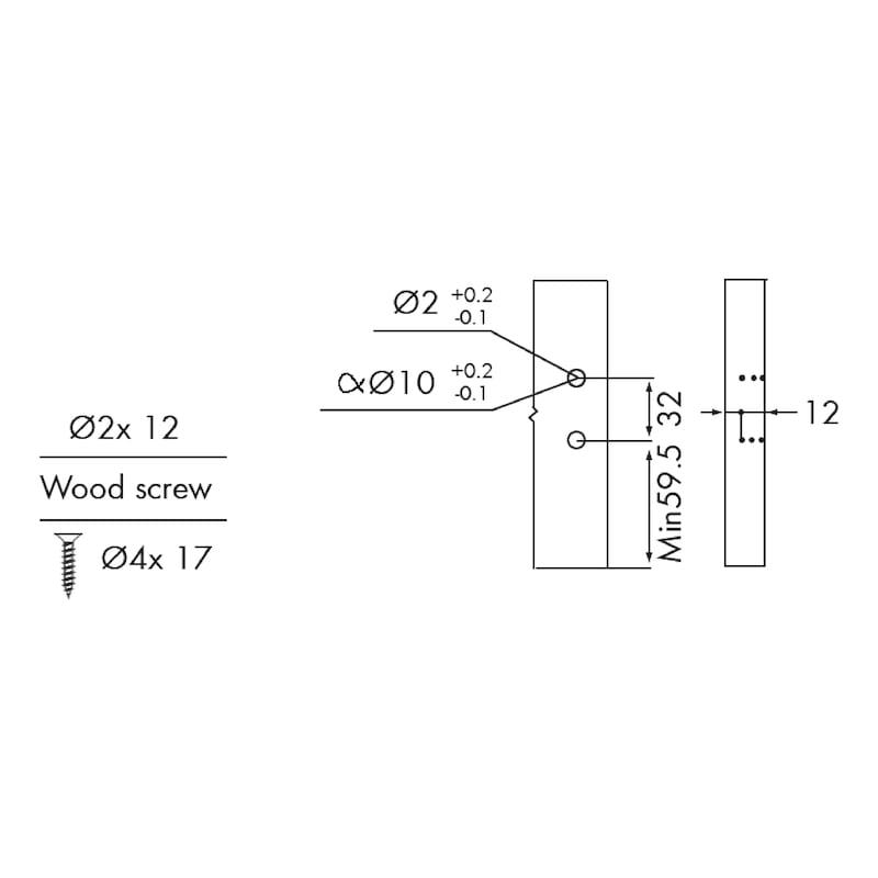 Gaveta slidebox H89 Gaveta metálica fina - 7