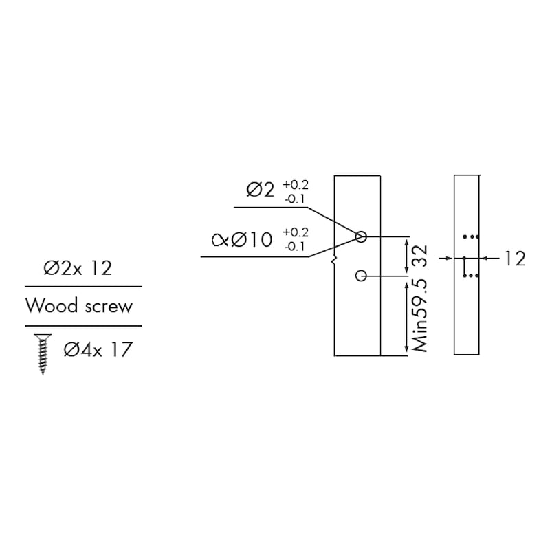 Gaveta slidebox H121 Gaveta metálica fina - 8