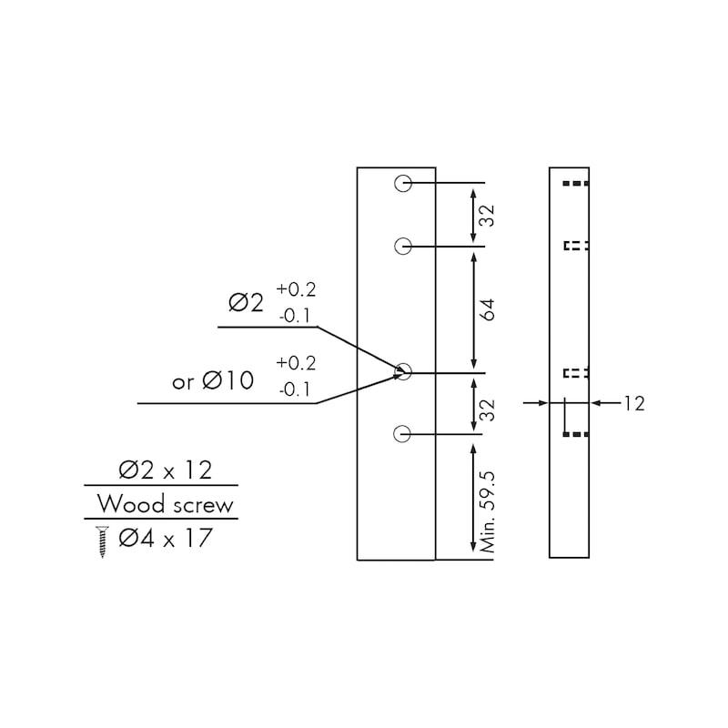 Gaveta slidebox H185 Gaveta metálica fina - 8