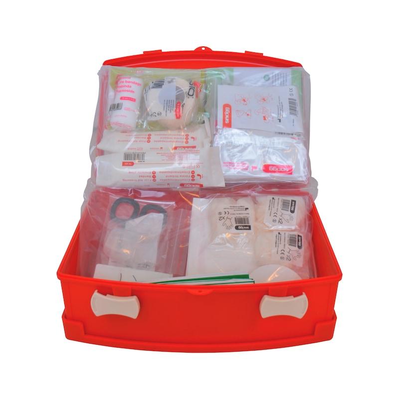 Førstehjælpskasse, lille - FØRSTEHJÆLPSKASSE LILLE