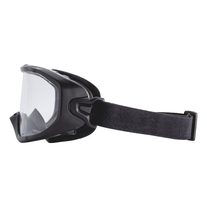 Panoramatické okuliare Castor - OKULIARE BEZP-CASTOR-ČIERNE-EN166