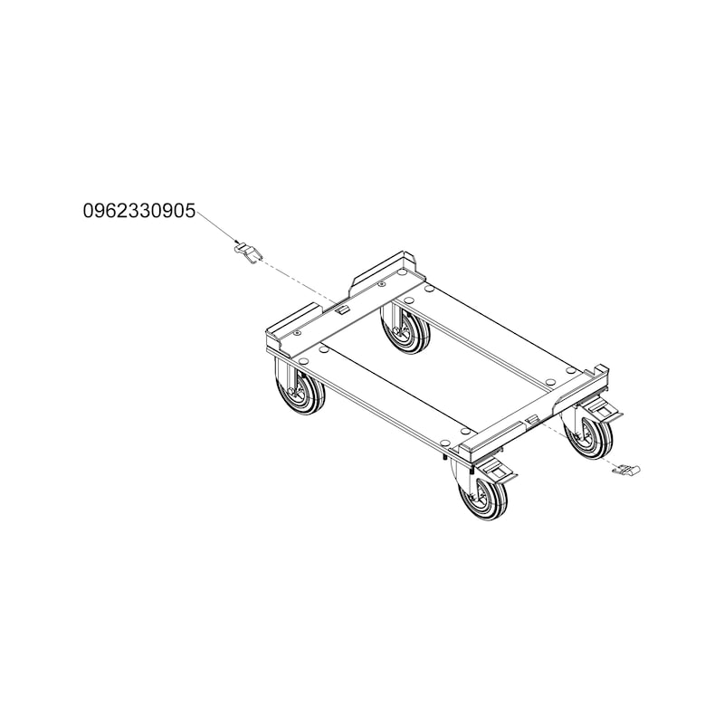 ORSY<SUP>®</SUP>BULL Fahrwagen - FAHRWG-SERIE5-225KG