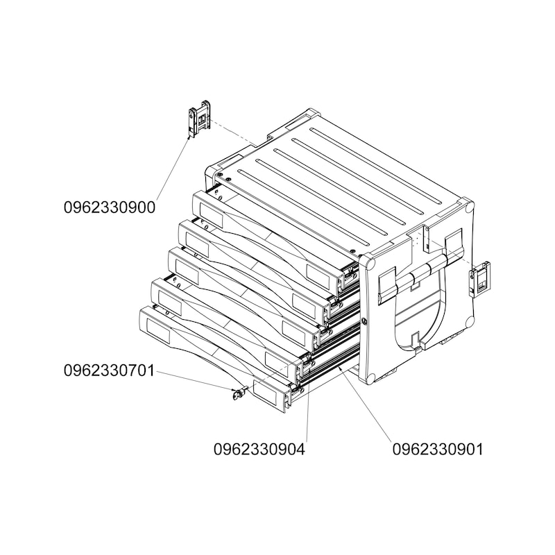 ORSY<SUP>®</SUP>BULL-Kombibox Toplader Serie 7 - 3