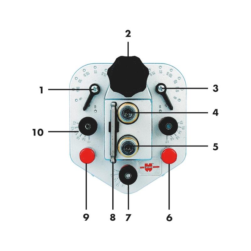 Verbinderbohrlehre  VBL-2 - 3