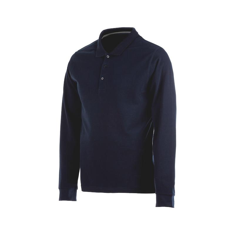 Long-sleeved polo shirt Job+
