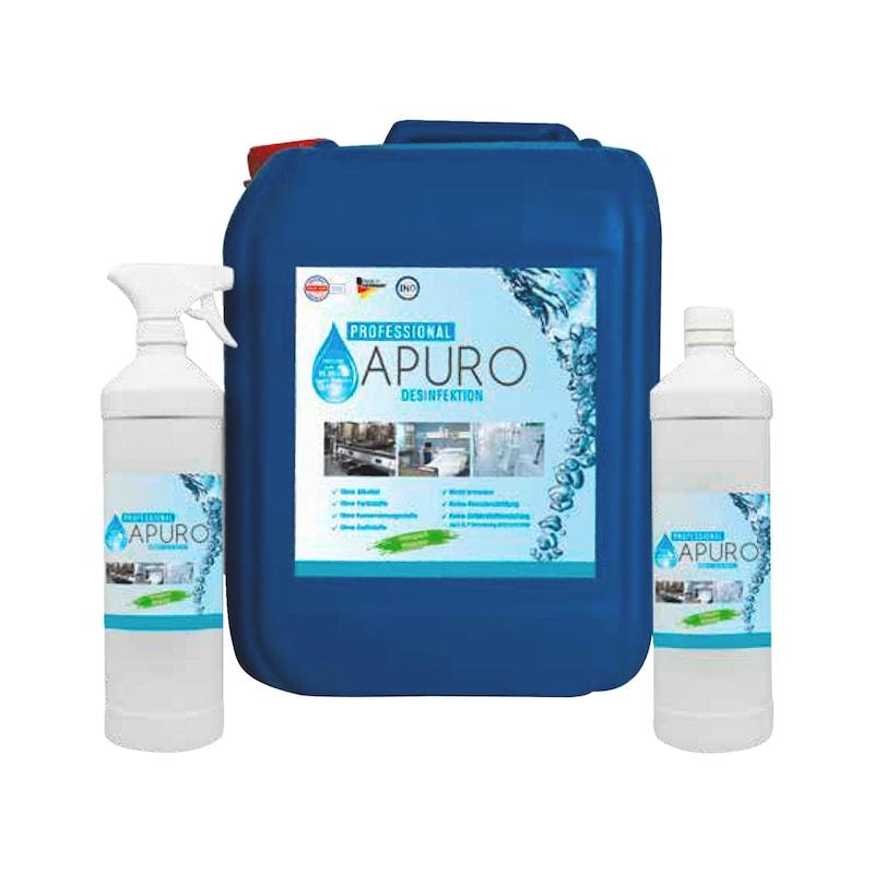 Flächendesinfektionsmittel APURO Professional A 10³ DES - FLAECHDESINF-APURO-PROFESS-A10³-DES-1L