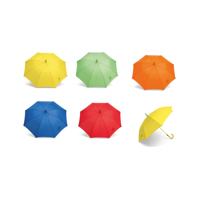 Stockregenschirm mit Automatiköffnung - 4