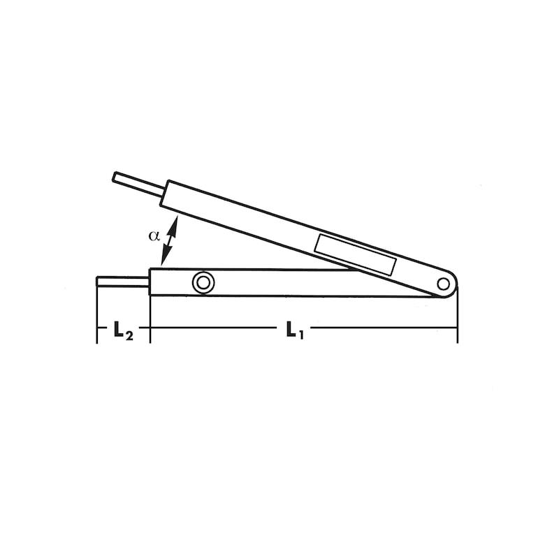 Winkelmesser Winkelfix maxi - 2