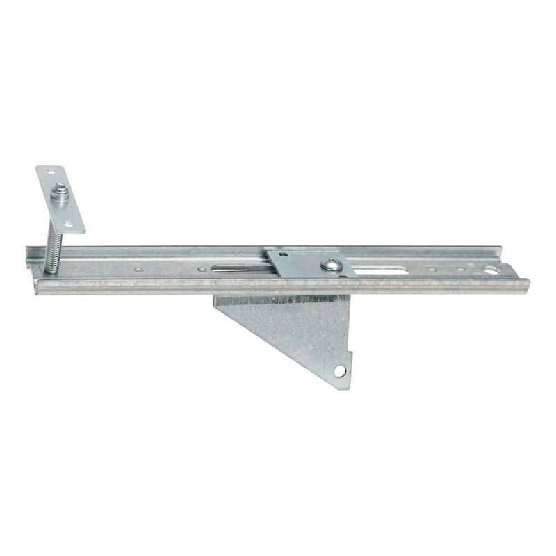 Fenstermontageschiene mit Anschraubplatte JB-D - MNTGSHN-JB-D150-10-40-AW75-AM8-(A2K)