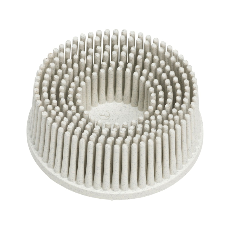 Disque abrasif picots - BRISTLE DISC BLANC P 120 Ø 50 MM
