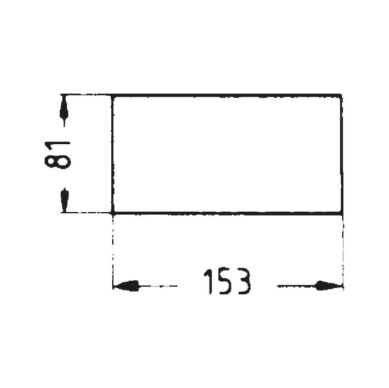 Nylon-Schleifvlies - SHLFVLI-BGN-A100-81X153MM