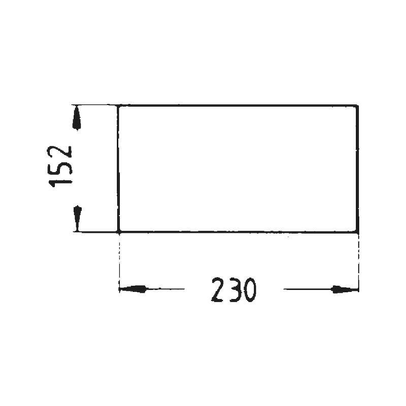 Nylon-Schleifvlies - SHLFVLI-BGN-S1000-152X230MM