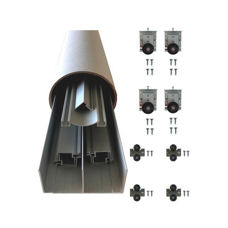 Pack de ferrures pour portes coulissantes de placard TREND - 1