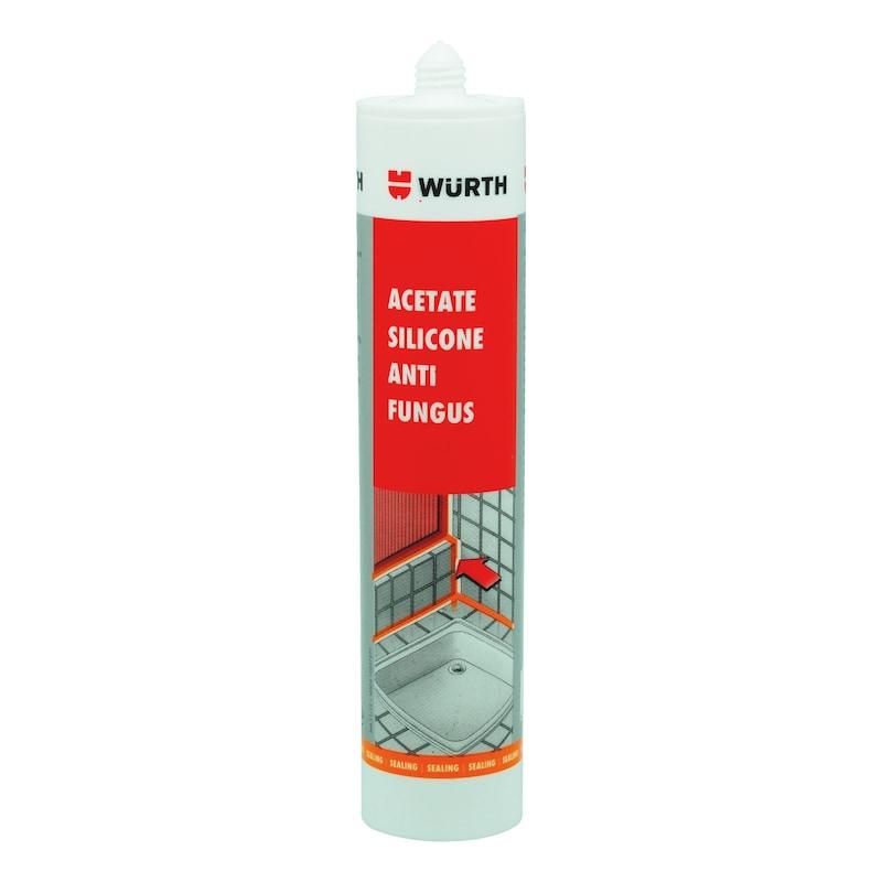 ซิลิโคนอะซีเตทสำหรับห้องน้ำ Advanced - ซิลิโคนป้องกันเชื้อราแบคทีเรีย280มลสีขาว