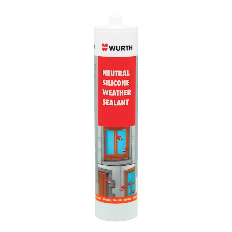 Weather sealant Neutral silicone - SILSEAL-NEUT-CLEAR-300ML
