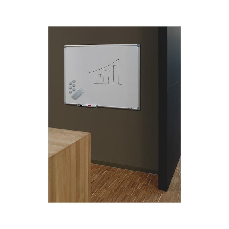 Whiteboard - WHITEBOARD-EMAILLIERT-WEISS-1200X900MM