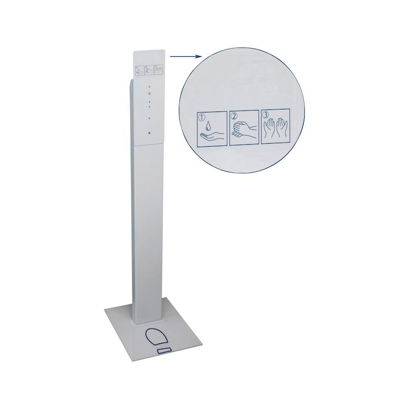 Dispenser manuale e pedana  - 2